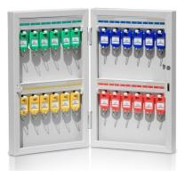 杰丽斯 金属钥匙箱 8701 24位  带锁挂壁式钥匙柜