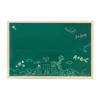 日野良品 写字黑板 45*60cm无磁  1个 单面磁性木框 办公挂式写字黑板 45*60cm