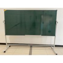 嘉晟 写字黑板  1个 绿板+白板 1M*2M 带移动支架