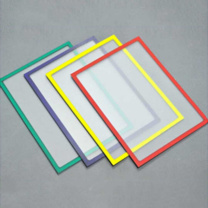 装得快 磁力框 磁性文件展示框 A4 A4 20张/套 (蓝色)