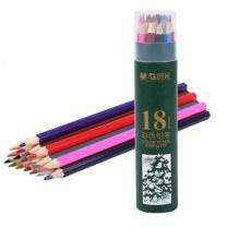 晨光 M&G 18色PP筒装彩色铅笔 AWP34307  18支/筒