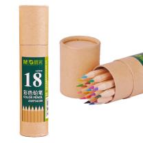 晨光 M&G 18色筒装牛皮纸彩色铅笔 AWP34306  18支/筒