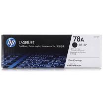 惠普 HP 双包装硒鼓 CE278AF 78A (黑色)