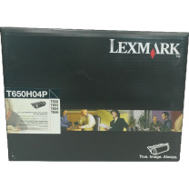 利盟 LEXMARK 高容量硒鼓 T650H04P 25K (黑色) 适用于T650