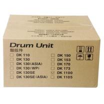 京瓷 Kyocera 套鼓组架件 不含粉 适用于京瓷FS 1110 1024 1320 1320d 打印量60000页 DK-1100 (黑色) 硒鼓*1