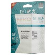 耐力 NIKO 墨盒 51645(HP 45) (黑) 适用于惠普930c/970c/1180c/1280c服装大师/新雾/汇景/汉邦长地/博克/图王等国内外的CAD服装绘图仪