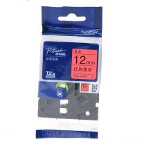 兄弟 brother 标签机色带 TZe-Z431/TZe-431 12mm (红底/黑字) 仅E115标签机不可用