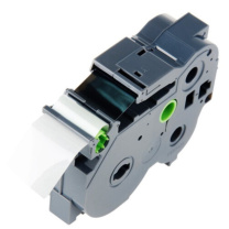 天威 PRINT-RITE 标签色带 BRO-TZw151 RAB172BPRJ  透明底黑字24mm*8m
