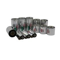 耐力 NIKO 增强腊基标签碳带 110mm*300M 110mm*300M (黑色) 配双轴