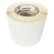 斑马 铜版纸标签 60*40mm*1000pcs  (中管芯)(10卷起订)