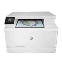 惠普 HP 彩色激光打印机 M180n (白色)