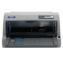 爱普生 EPSON 82列平推票据针式打印机 LQ-730KⅡ  (24针 最大打印厚度:0.53mm)