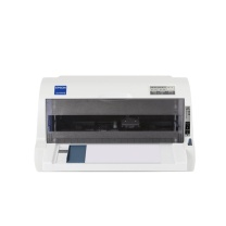 爱普生 EPSON 82列平推票据针式打印机 615KII  (24针 最大打印厚度:0.32mm)