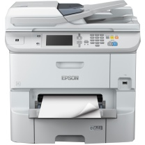 爱普生 EPSON A4部门级彩色商用墨仓式多功能一体机 WF-6593  (打印、复印、扫描、传真)