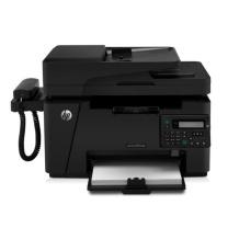 惠普 HP A4黑白激光多功能一体机 LaserJet Pro MFP M128fp  (打印、复印、扫描、传真)