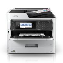 爱普生 EPSON A4黑白商用墨仓式多功能一体机 WF-M5799a  (打印、复印、扫描、传真)