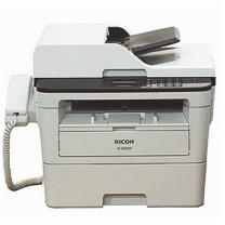 理光 RICOH 黑白激光传真机 M 340FW A4幅面/打印/复印/扫描/传真/自动双面/wifi打印+输稿器