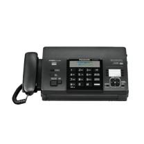 松下 Panasonic 传真电话一体机 KX-FT872CN  热敏传真机中文显示传真电话一体机 黑色