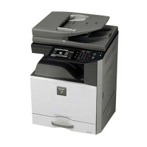 夏普 SHARP A3彩色数码复印机 DX-2508NC  (单纸盒、双面同步扫描输稿器) (政采链接)