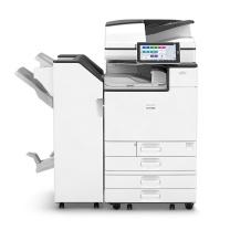 理光 RICOH 彩色多功能数码复合机 IM C3500  包含落地式排纸处理器、鞍式装订、打孔组件和落地式4纸盒、EPPO软件