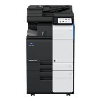 柯尼卡美能达 KONICA MINOLTA A3彩色数码复印机 bizhub C300i  (双面自动输稿器、双纸盒、工作台)