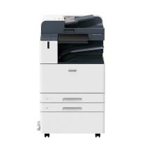 富士施乐 FUJI XEROX A3彩色数码复印机 ApeosPort C3070 CPS  (双纸盒、双面输稿器、工作台)