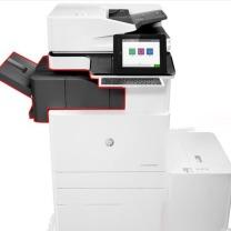 惠普 HP A3彩色数码复合机 Color LaserJet Managed Flow MFP 87660Z  (含选配件Y1F98A底座双纸盒+Y1G07A小册子装订器+Y1G11A 2/4打孔器+四色墨粉一套)