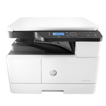 惠普 HP 复印机 M437dn 台 (白色) M437dn A3 数码复合机 自动双面 打印 复印 扫描 433/436升级系列