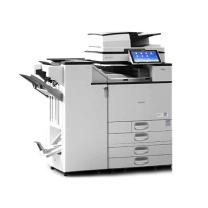理光 RICOH A3黑白数码复印机 MP6055SP  (四纸盒、双面输稿器、小册子装订器SR3220)