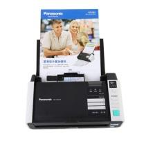 松下 Panasonic 扫描仪A4高速高清彩色双面自动馈纸文档发票卡片 WIFI+有线网络 KV-S1037X