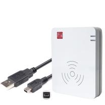 精伦电子IDR210身份证读卡器身份证阅读器识别验证核查真伪证件 免驱动版HID AB