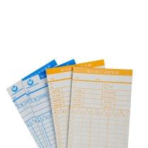 优玛仕 U-mach 考勤卡纸 185*85MM 350G  100PC/PKT TIMECARD