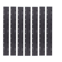 晨光 M&G 10孔装订机夹条 ABSN2602 (黑色) 100条/盒 3mm