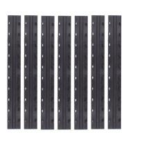 晨光 M&G 10孔装订机夹条 ABSN2604 (黑色) 100条/盒 7.5mm