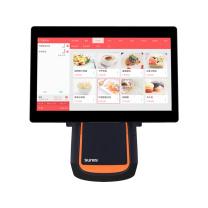 商米 sunmi 台式收银机 T2 双屏  含商米钱箱+商米便携式支付盒子NS010小闪+软件