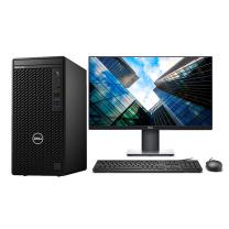 戴尔 DELL 台式电脑 3080MT 23.8英寸显示器 I5-10500 8G 128G固态+1T 集显
