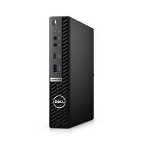 戴尔 DELL 台式电脑主机 7080MFF i7-10700 8G 256G 集显  无线蓝牙 有线键鼠 win10H 标压 3年质保 原厂