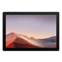 微软 Microsoft 平板电脑 Surface Pro 7 12.3英寸 i7 16G 512GSSD 典雅黑 带黑色键盘  3年质保