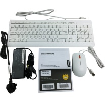 联想 lenovo 一体机台式电脑 AIO 520C-24 23.8英寸 (黑色) I3-8145U 8G 256固态+16G傲腾 W10 无摄像头