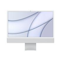 苹果 Apple 一体式电脑 Apple iMac 24英寸 4.5K屏 M1芯片 8G 256G SSD  7核图形处理器 银色 1年质保