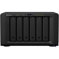 群晖 Synolog 网络存储服务器 DS1618+ (8GB) 四核心 6盘位(希捷_10T*3)
