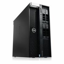 戴尔 DELL 计算机工作站 T5820  (W-2123/16GX4/2TB/256G SSD/GTX1080Ti/DVDRW/425W)