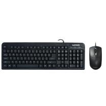 联想 lenovo 有线键鼠套装 KM4800 联想(lenovo)有线键盘鼠标套装 键盘 键鼠套装 办公鼠标键盘套装 KM4800键盘 电脑键盘笔记本键盘