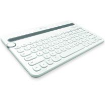 罗技 Logitech 蓝牙键盘 K480 (白色)