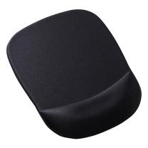山业 SANWA 慢回弹记忆海绵鼠标垫 MPD-MU1NBK (黑色)