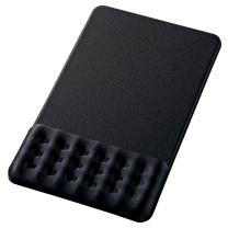 山业 SANWA 多孔透气鼠标垫 MPD-GEL20BK (黑色)