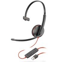 缤特力 plantronics USB头戴式耳麦 C3210