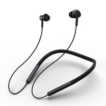 小米 MI 蓝牙项圈耳机 动圈+动铁 双单元发声 (黑色)