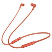 华为 HUAWEI 无线蓝牙耳机 FreeLace 智慧闪连快充 (赤茶橘) 动听人声 运动耳机