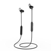 漫步者 EDIFIER 无线运动蓝牙耳机 W200BT经典版 磁吸入耳式 (黑色)
